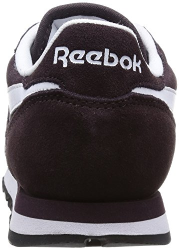 Reebok Classic Leather Suede, Sneakers da Donna Viola (Urban Plum/White/Black/Gold Met)