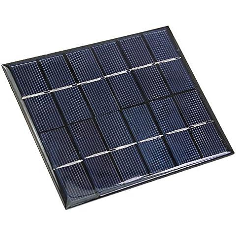 Durable 6V 2W 330mA Mini Panel Placa Módulo Solar Batería Cargador Celular