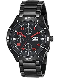 Gio Collection Analog Black Dial Men's Watch - G0045-22