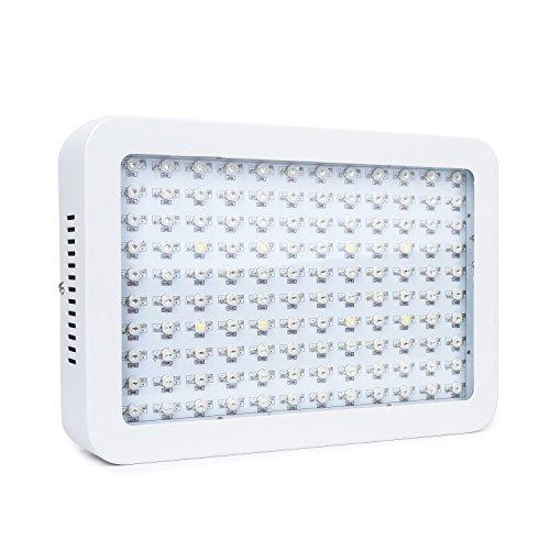 Lampada LED Per Piante Illuminazione Coltivazione Pannello Quadrato per La Verdura e Fiori in Serra 600W