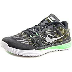 Nike Mens Nike Lunar Caldra Black and Green Running Shoes - 9 UK/India (44 EU)(10 US)