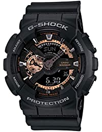 Casio G-Shock Analog-Digital Black Dial Men's Watch - GA-110RG-1ADR (G397)