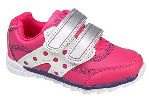 gibra, Sneaker bambini 36 Rosa (rosa)