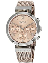 75c435ca9f0 Hugo BOSS Womens Analogue Classic Quartz Watch with Stainless Steel Strap  1502426