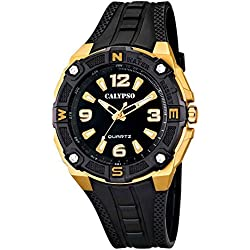 Calypso Watches Herrenarmbanduhr Analoguhr mit Beleuchtung K5634/7