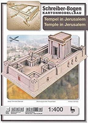 """Aue-Verlag Modellbausatz """"Tempel in Jerusalem"""" 55x 29x 16cm von Aue-Verlag"""