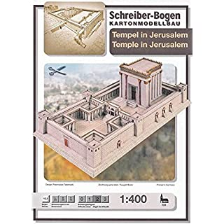 Aue-Verlag 55 x 29 x 16 cm Temple in Jerusalem Model Kit