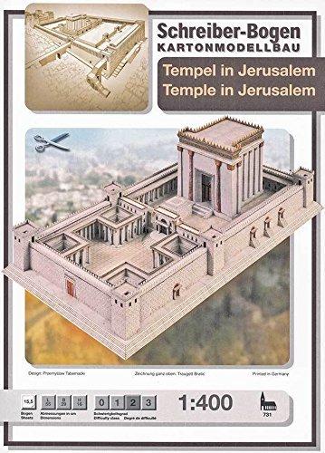 "Aue Verlag Modellbausatz ""Tempel in Jerusalem"" 55x 29x 16cm Preisvergleich"