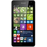 "Microsoft Lumia 535 - Smartphone libre (pantalla 5"", cámara 5 Mp, 8 GB, 1.2 GHz, 1 GB RAM, Windows), negro"