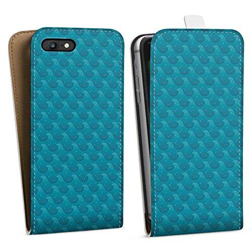 Apple iPhone X Silikon Hülle Case Schutzhülle Wellen Meer Urlaub Downflip Tasche weiß