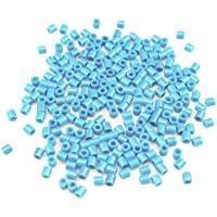 DIY Platic Perlen, Minkoll 1000 Teile/los 5 mm DIY Puzzle Handwerk Spielzeug für Kinder Kinder Pädagogisches (Hellblau) - Comparador de precios