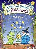 Malen und Rätseln im Zauberwald - ABC-Rätsel: Vorschulblock ab 5