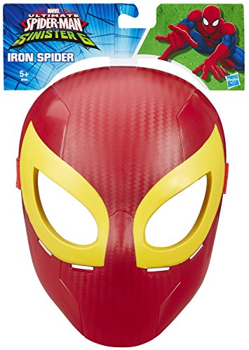 Spiderman Miles Ultimate Morales Kostüm (Ultimate Spider-Man Maske: Iron Spider Kostüm Zubehör für Kinder)