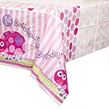Fusion First Birthday LadyBugs Plastic Table Cover