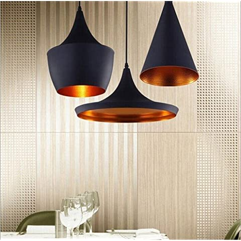 Creative industrie rurali vintage lampadario in ferro ,30cm di disco
