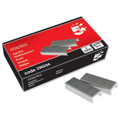 5-star-staples-26-6-mm