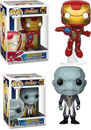 Funko POP! Avengers Infinity War: Iron Man + Ebony Maw