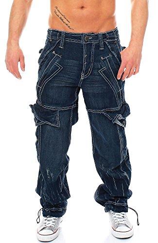 Jet Lag Hose Cargo Jeans Donny denim M/34 -