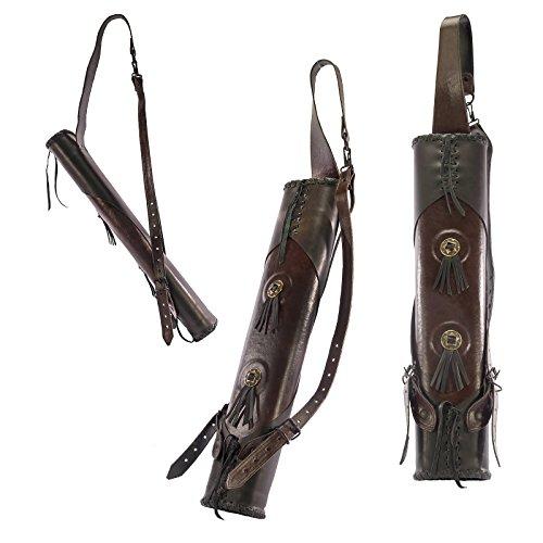 echt Leder in Handarbeit gefertigt Mittelalter Larp Schöner Pfeilköcher