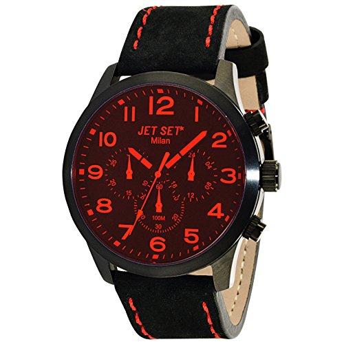 Jet Set Reloj de cuarzo Unisex Unisex J6480B-217 49 mm