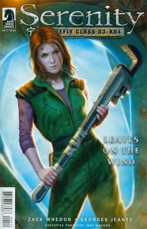 Serenity: Leaves on the Wind #4 (Of 6) Regular Cover (Firefly, Joss Whedon) 1st Printing