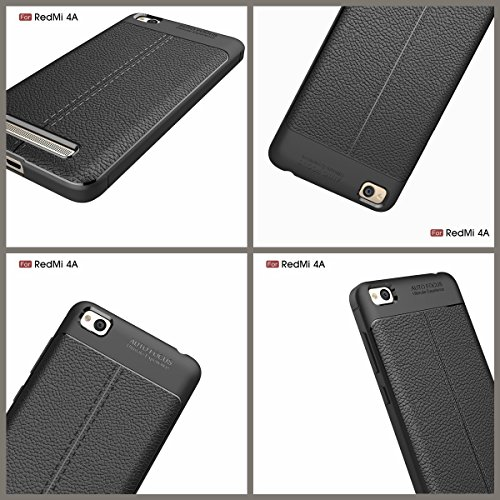 XiaoMi 6 / 6E / 6P Weich Hülle,EVERGREENBUYING flexibel Silikon Cover TPU MCE16 Tasche Ultra-dünne Handyhülle Rückschale Case für XIAOMI 6 / Mi 6 Azurblau Schwarz