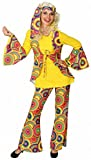 narrenkiste O9439-50-52 Hippie Kostüm Anzug Flowerpower Party Gr.50-52