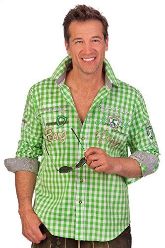 Alpenwahnsinn Trachtenhemd, Größe S Pistazie