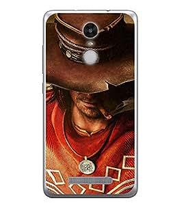 Fuson Designer Back Case Cover for Xiaomi Redmi Note 3 :: Xiaomi Redmi Note 3 Pro :: Xiaomi Redmi Note 3 MediaTek (Hollywood Movie Cigar Attitude Locke Men Boys)