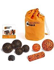 blackroll-orange Faszien-Massage ZUBEHÖR-SET XL + miniBAG ORANGE Transporttasche