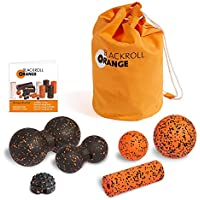 blackroll-orange Faszien-Massage ZUBEHÖR-SET XL + miniBAG ORANGE Transporttasche