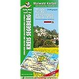 Segeberg Ost/West = Offizielle Rad-, Reit- u. Wanderkarte = Kreis Segeberg - zwischen Alster und Holsteinischer Schweiz - GPS geeignet: 1:50.000 - Die ... - Maßstab 1:50.000 - GPS geeignet)