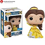 Funko- Disney's Beauty And The Beast Figurina Belle Sparkle Ballgown, 12575