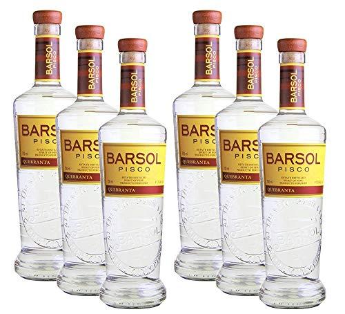 Barsol Pisco Quebranta[6 x 700ml, 40,5%]