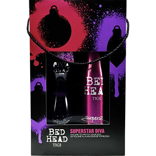 TIGI Bed Head Superstar Superstar Diva Queen For A Day Volumen Schaumspray 320 ml + Blowdry Lotion 250 ml 1 Stk.