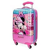 Disney Minnie Smile Equipaje Infantil, 55 cm, 33 Litros, Rosa