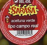 Aceituna aliñada campo real, Paquete de 6 x 800gr - Total: 4800 gr