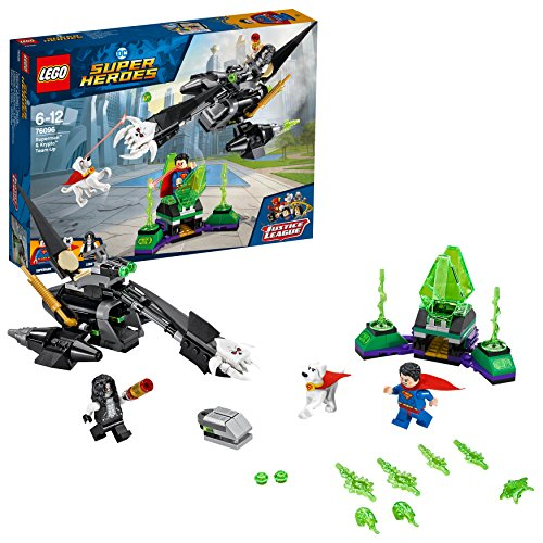 LEGO DC Super Heroes Superman & Krypto Team-Up 76096 Superheldenspielzeug für Kinder