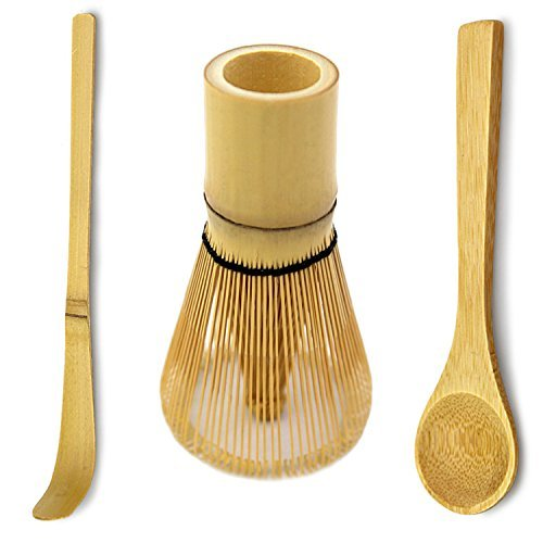 Bamboo Matcha Tea Whisk, Scoop and Small Spoon by : MatchaDNA