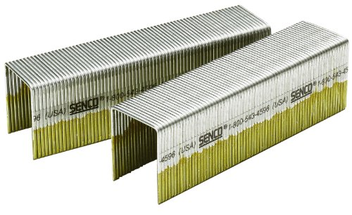 Senco P19BAB 16 Gauge by 1-inch Crown by 1-3/4 inch Length Electro Galvanized Staples (5,000 per box) by Senco (1-zoll-16-gauge)