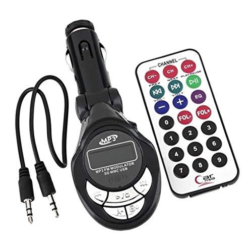 YILONG 4in1 Auto-MP3-Player-drahtloser FM Transmitter Modulator USB CD MMC-Fernbedienung