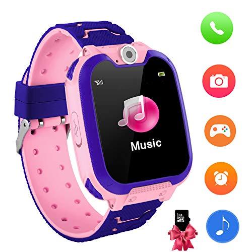 Reloj Inteligente para niños con Juegos - Niños Chicas Reloj Digital Pulsera...
