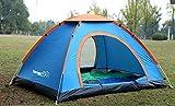 TurnerMAX Outdoor Kangto Wurfzelt für 4Personen, für Camping, Wandern und Angeln