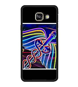 PrintVisa Doctor Logo High Gloss Designer Back Case Cover for Samsung Galaxy A5 (6) 2016 :: Samsung Galaxy A5 2016 Duos :: Samsung Galaxy A5 2016 A510F A510M A510Fd A5100 A510Y :: Samsung Galaxy A5 A510 2016 Edition