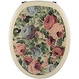 Sanitop-Wingenroth Dekor Abattant WC Fleurs, 1pièce, 219952