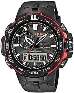ab67c7bbe04f Casio Pro Trek Tough Solar PRW-6000Y-1ER Reloj de Pulsera para hombres  Multiband