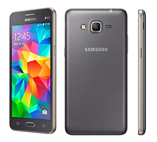 Samsung Galaxy Grand Prime - Smartphone Android (Bildschirm 5, 8 MP Kamera, 8 GB, Quad-Core 1,2 GHz, 1 GB RAM), grau Samsung 8 Gb Mp3