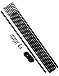 Cao 4025 - Kit Palos para tiendas de campaña, 8 piezas