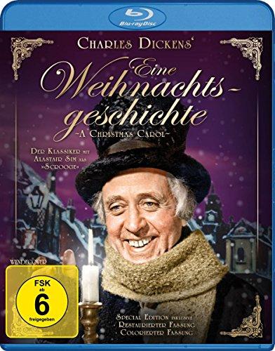 Eine Weihnachtsgeschichte (Charles Dickens) - Special Edition inkl. kolorierter Fassung (Filmjuwelen) [Blu-ray] -