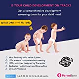 Parentlane Growth Check Pro (Child Development Screening - less than 5 years old) Email Delivery in 2 Hours